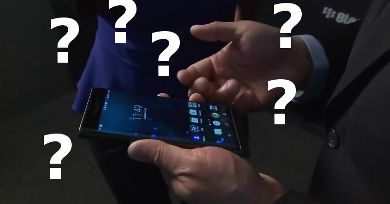 مدیرعامل بلکبری نمیداند چطور باید از گوشی اندرویدی ساخت خودشان استفاده کند