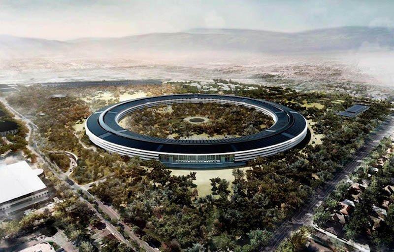 ویدیو: سفینه فضایی، ساختمان مرکزی آینده اپل