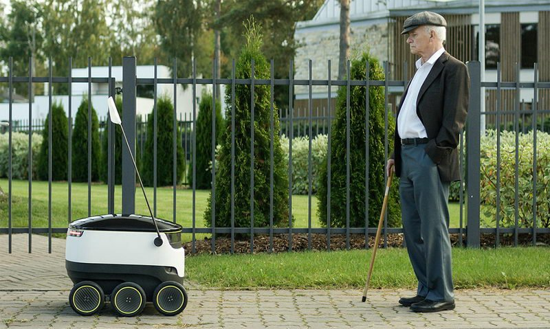 اگر یک روبات زنگ خانه را زد و گفت سفارش شما را آوردم؛ تعجب نکنید!