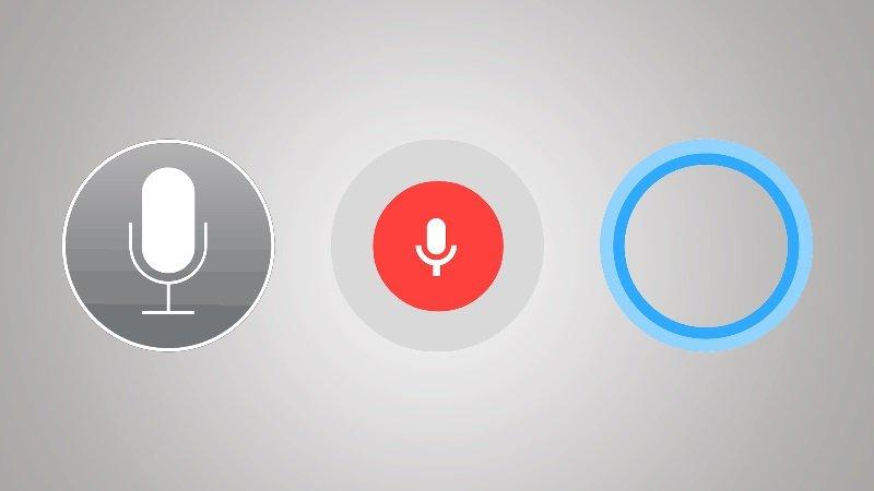 کورتانا در مقابل سیری، سیری در مقابل Google Now