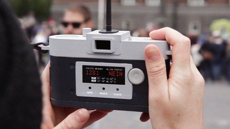 دوربینی که اجازه عکس گرفتن تکراری را نمیدهد!