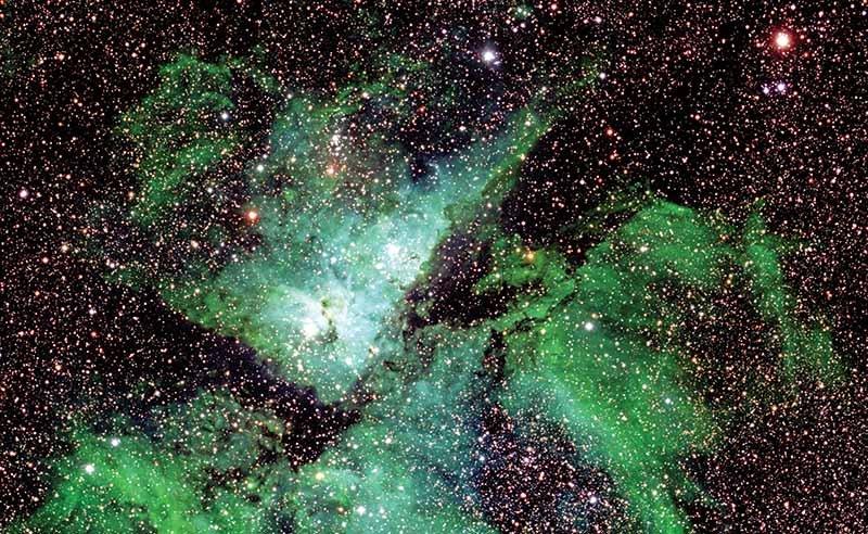 بزرگترین عکس نجومی از کهکشان راه شیری