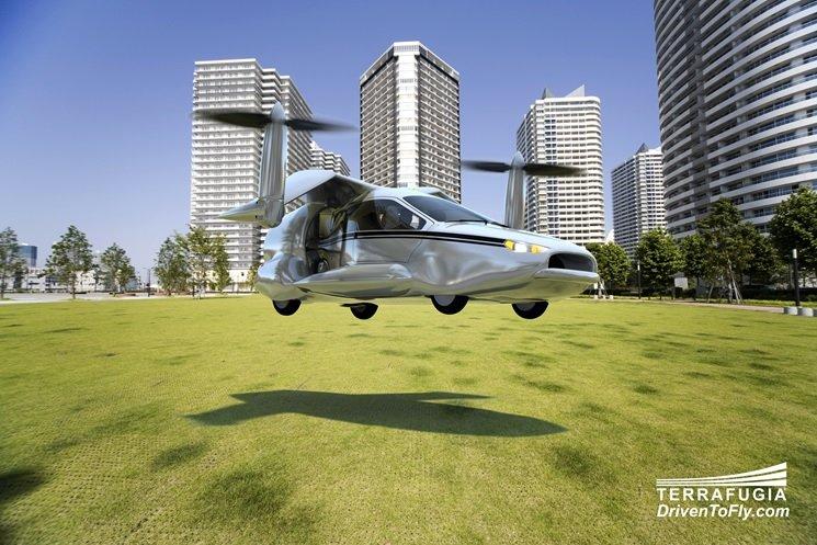 رانندگی در آسمان: اولین ماشین پرنده مجوز پرواز گرفت+ تصاویر
