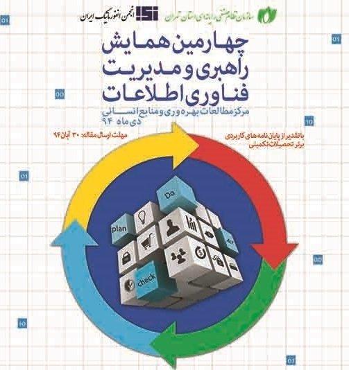 چهارمین دوره همایش راهبری و مدیریت فناوری اطلاعات
