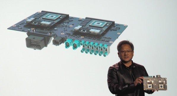 CES 2016: معرفی اولین ابر رایانه برای ماشینهای خودران