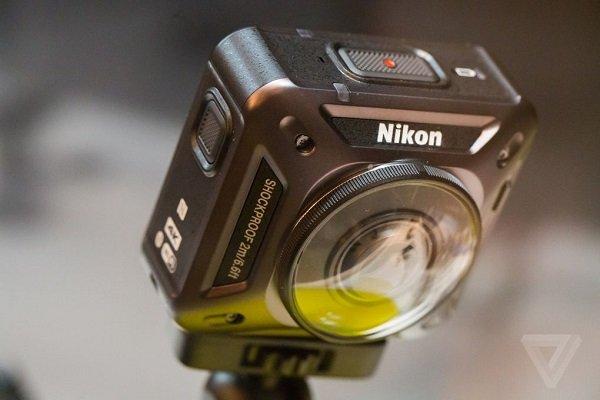 گالری عکس CES 2016: دوربین اکشن نیکون با قابلیت فیلمبرداری 360 درجهای