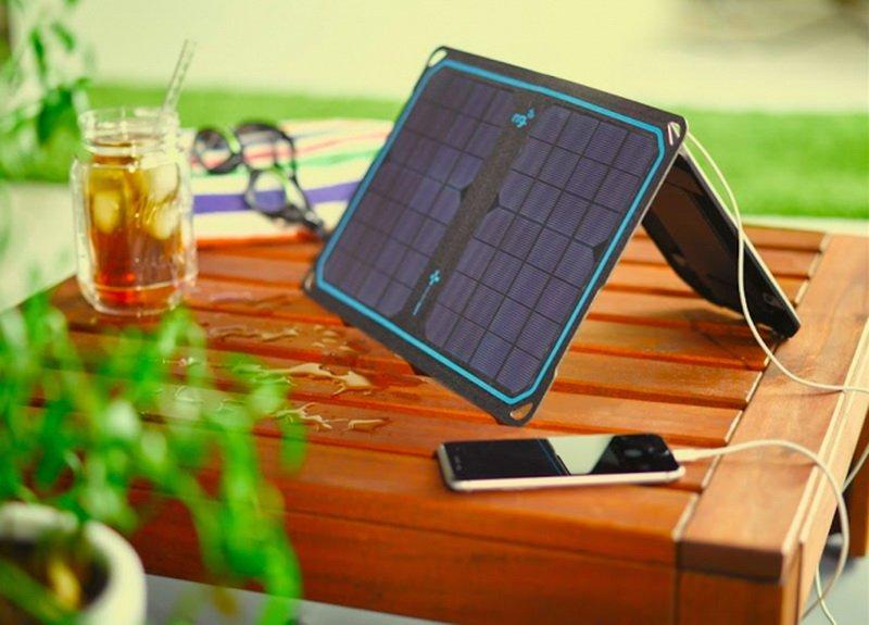 CES 2016: گجتی برای شارژ رایگان تلفن همراه و تبلت با انرژی خورشید
