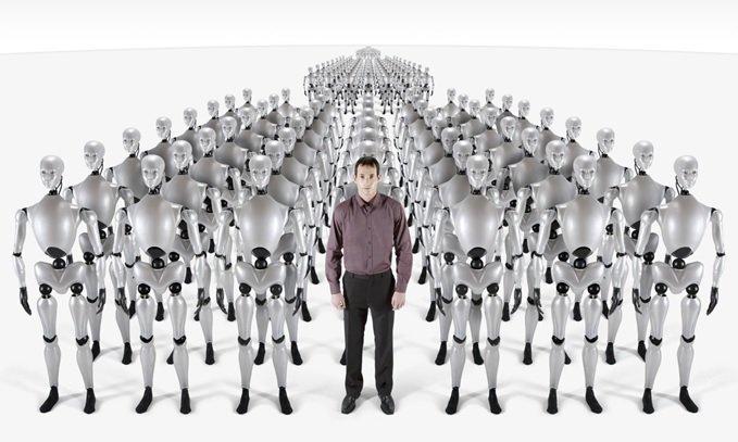 روباتها دوست ندارند ما بیکار شویم!