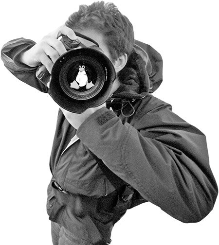 یک عکاس اوپنسورس از چه نرمافزارهایی استفاده میکند؟