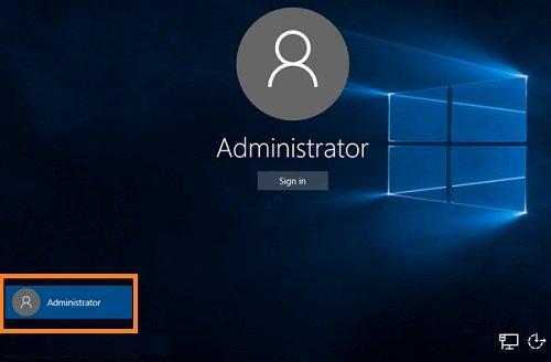 آموزش ورود به ویندوز 10 با تغییر رمز عبور مدیر سیستم (Admin)