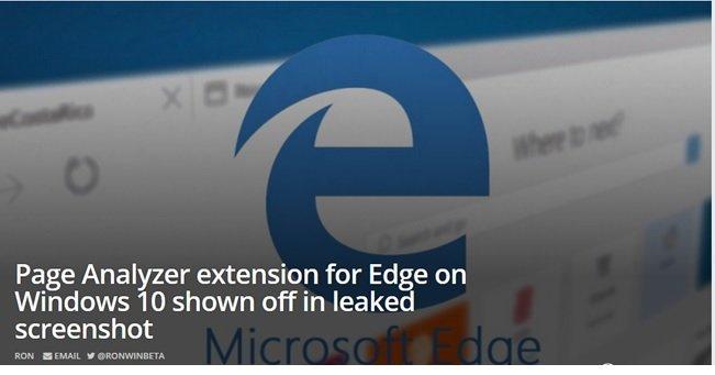 شمارش معکوس برای پشتیبانی از افزونهها در مایکروسافت اج