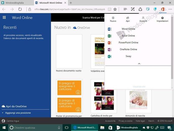 مایکروسافت افزونه آفیس آنلاین را ویژه مایکروسافت اج منتشر ساخت