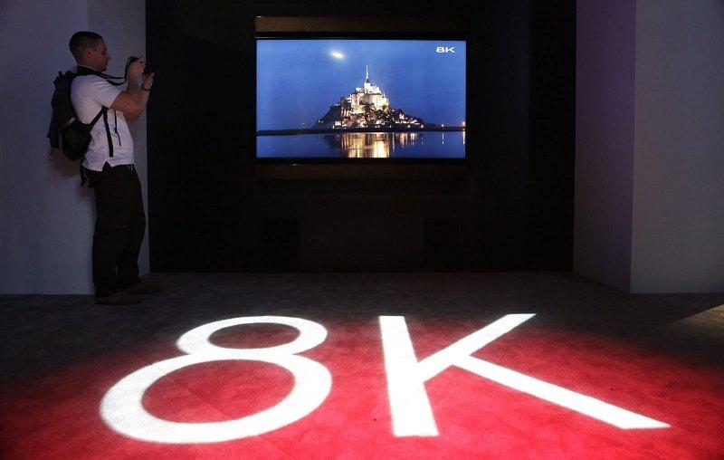 نخستین پخش آزمایشی تلویزیون ماهوارهای 8K در ژاپن