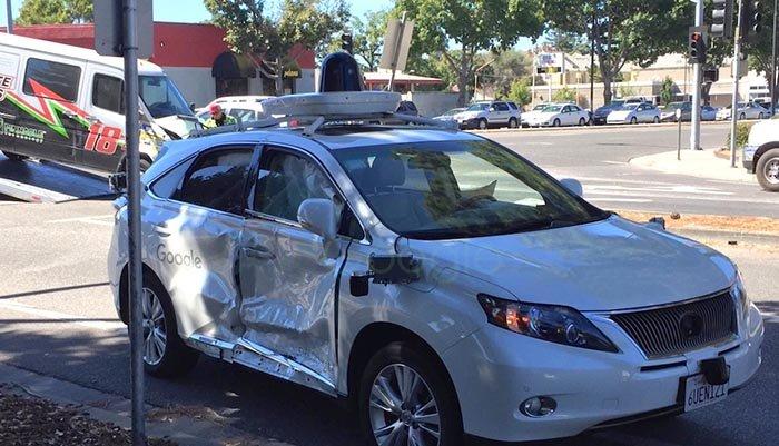 شدیدترین تصادف خودرویهای خودمختار گوگل ثبت شد!