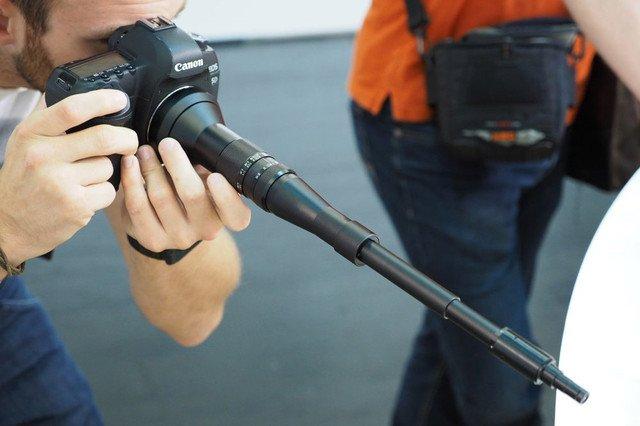 با لوله تفنگ ماکرو عکاسی کنید