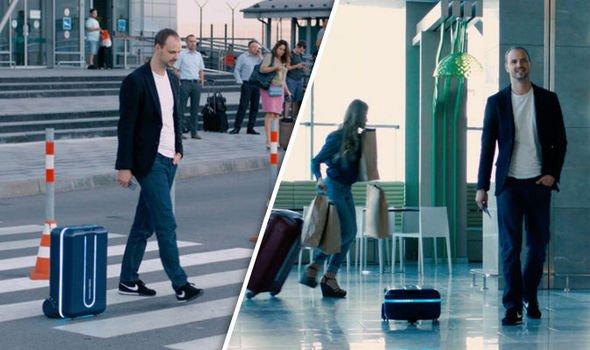 تماشا کنید: چمدان مسافرتی که به دنبال شما میآید!