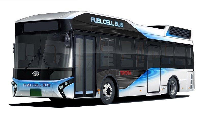 اتوبوسهای هیدروژنی تویوتا در حوادث طبیعی برق تولید میکنند