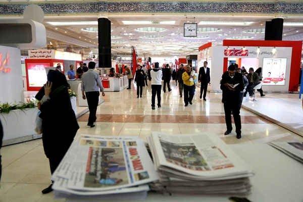 مشکل پوشش اینترنت همراه در نمایشگاه مطبوعات