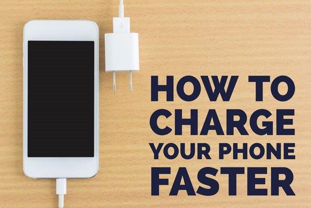 چگونه سرعت شارژ باتری گوشی خود را افزایش دهیم؟