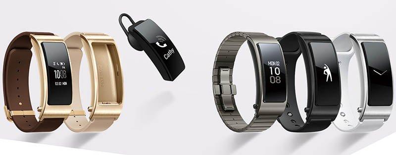 Huawei TalkBand B3؛ سه سبک طراحی مختلف و امکان استفاده بهعنوان بلوتوث هندزفری