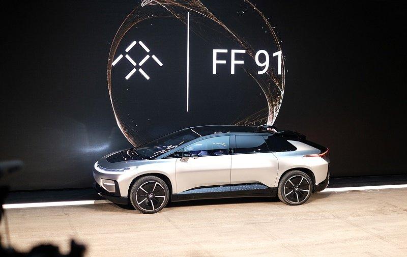 گالری عکس: خودروی الکتریکی فوق پیشرفته در نمایشگاه CES 2017
