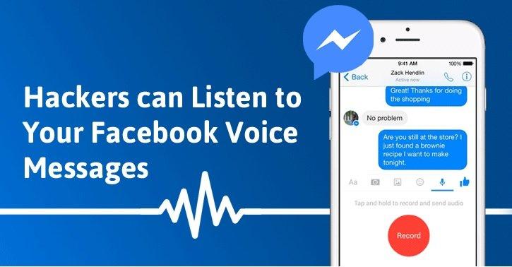 هکرها با یک هک ساده به پیامهای صوتی فیسبوک گوش میدهند