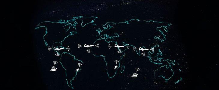 هواپیما به عنوان گره اینترنت