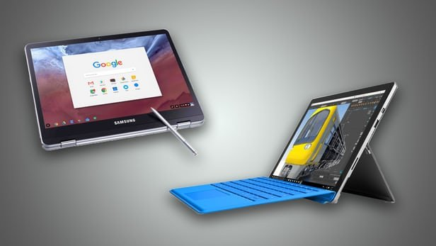 سرفیس پرو 4 مایکروسافت یا کرومبوک پرو و پلاس سامسونگ؟