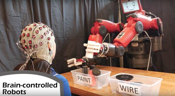 روباتها دستورات را از ذهن انسانها میخوانند و اجرا میکنند