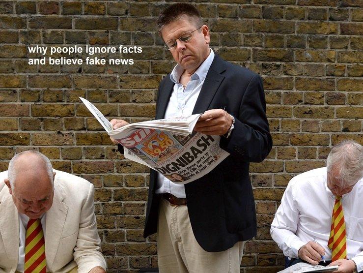 مردم به این چهار دلیل اخبار جعلی را باور میکنند