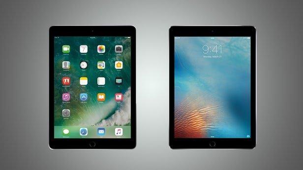 مقایسه تصویری آیپد 9.7 اینچی جدید اپل با آیپد پرو 9.7 اینچی