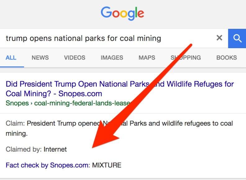 جستوجوگر گوگل اخبار جعلی را رسوا میکند
