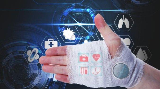 ردیابی و گزارش وضعیت زخمهای بیمار با بانداژ هوشمند مجهز به 5G