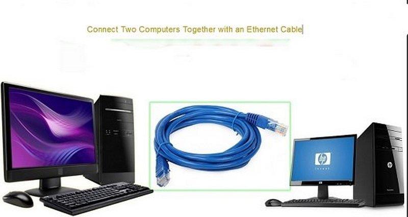 چگونه دو کامپیوتر را با کابل اترنت به هم وصل کنیم