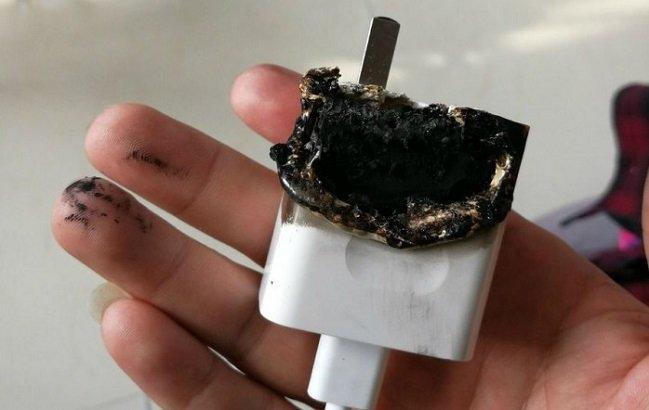 آتش گرفتن شارژر هوآوی پی 10 و عدم مسئولیتپذیری این شرکت