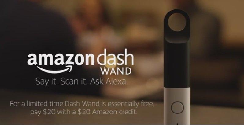 آمازون با Dash Wand صنعت مواد غذایی را هدف قرار داد