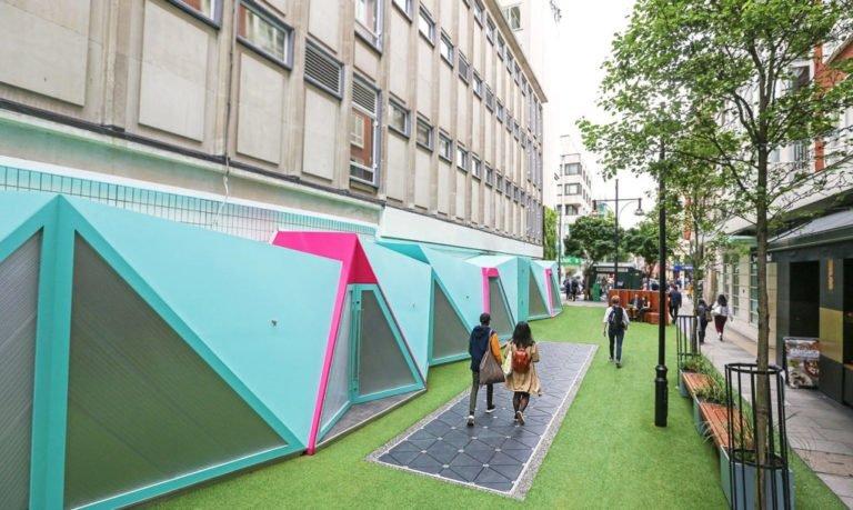 اولین خیابان هوشمند مولد انرژی در لندن ساخته شد