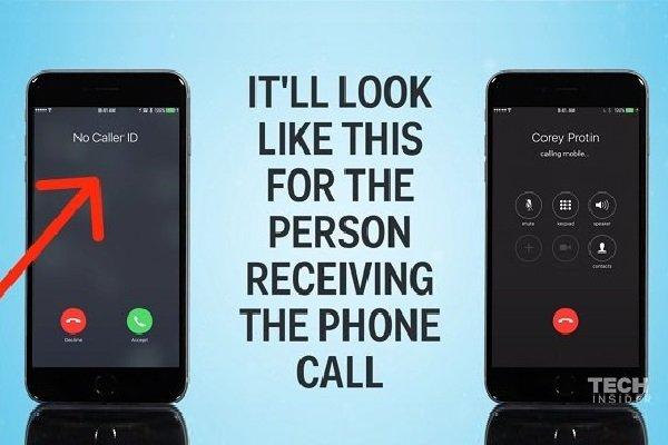 پنهان کردن شماره خود در حین برقراری تماس در آیفون