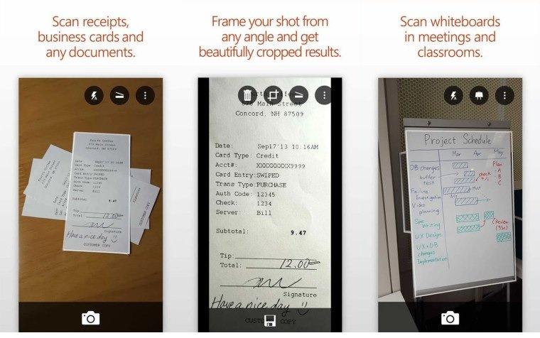 ویژگی اسکن چند صفحه در قالب یک فایل پیدیاف به Office Lens افزوده شد