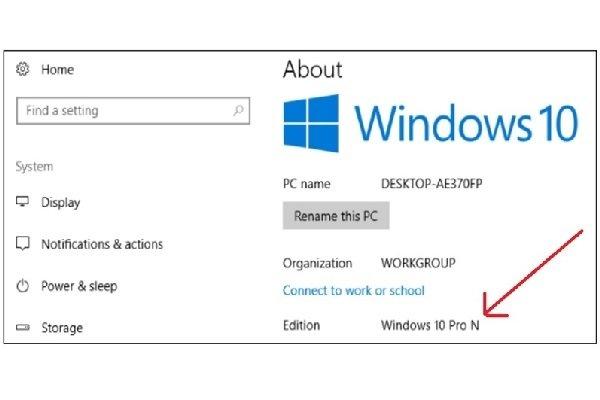 پسوندهای N و KN در نگارشهای مختلف ویندوز 10 به چه معنا هستند؟
