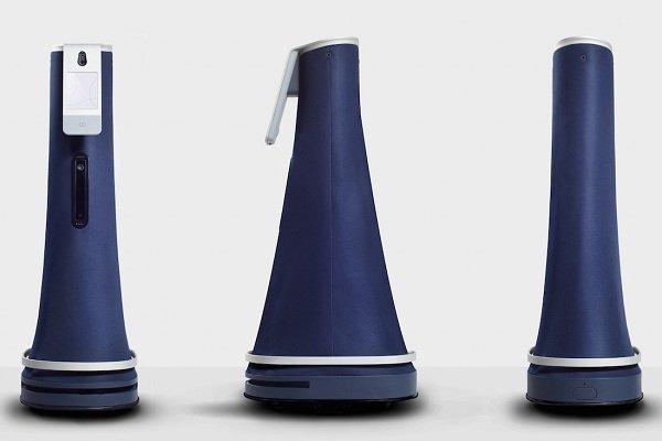 روباتی که با دید 360 درجه محل کار را زیر نظر دارد + ویدیو