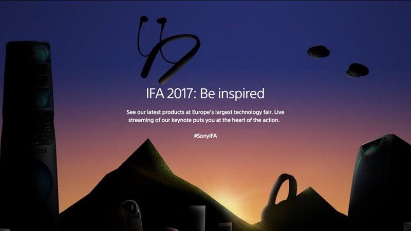 سونی در ایفا 2017 چه محصولاتی را رونمایی کرد؟