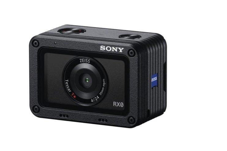سونی از دوربین حیرت انگیز اکشن کم RX0 رونمایی کرد