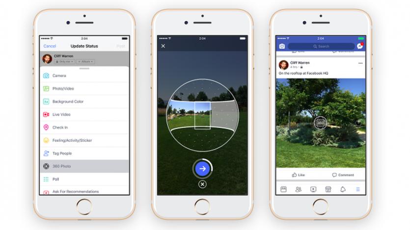 سیستم هوش مصنوعی فیسبوک عکسهای 360 درجه شما را اصلاح میکند