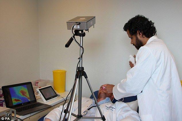 دوربینی که داخل بدن انسان را میبیند
