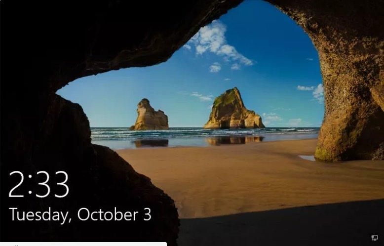 با یک دستور ساده لاک اسکرین ویندوز 10 را دور بزنید