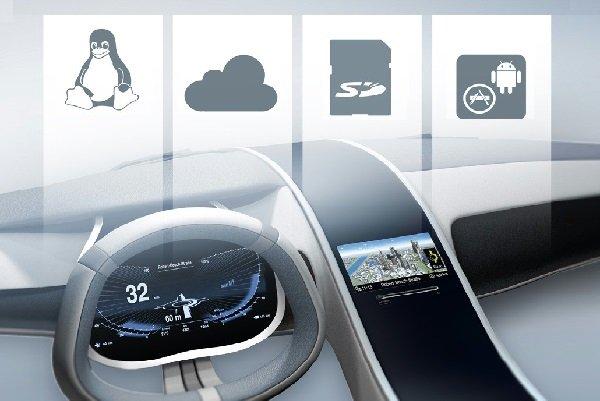 نرم افزارهای متن باز آینده خودروها را می سازند