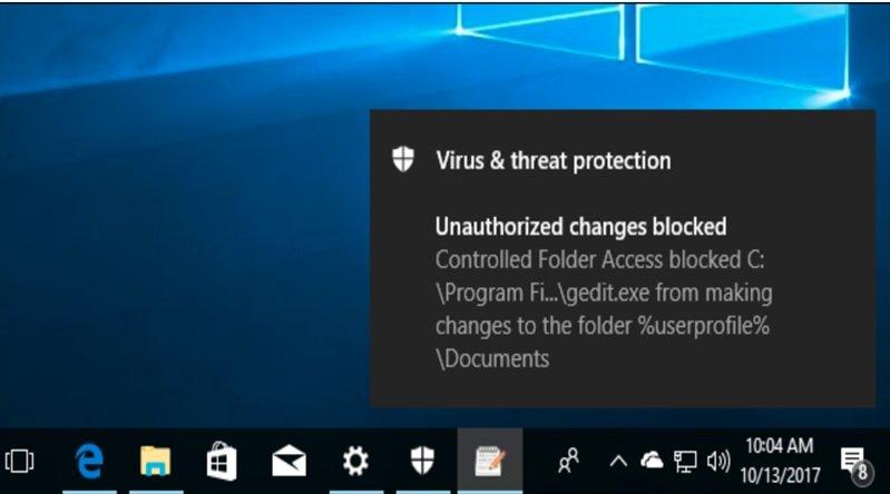 با بهروزرسانی ویندوز 10، راهکار جامع محافظت از فایلها در برابر باجافزارها منتشر شد