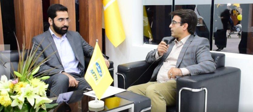 هوشمندسازی کسبوکارها در مصاحبه با مدیر ارشد فروش سازمانی شرکت ایرانسل - ویدئو