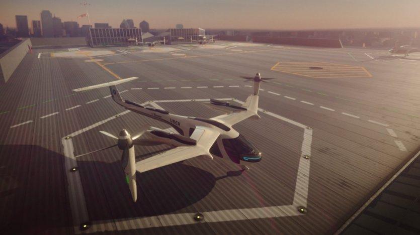همکاری شرکت اوبر و ناسا بهمنظور توسعه خودروهای پرنده شهری